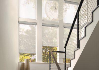 Designer Solar Screen_Stairs