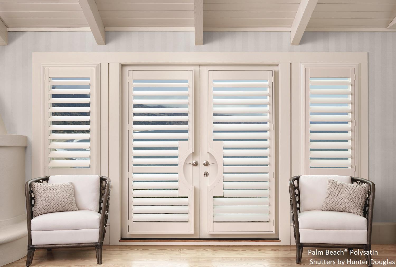 Palm Beach French Door Cutout Rick Nancy S Window Fashions